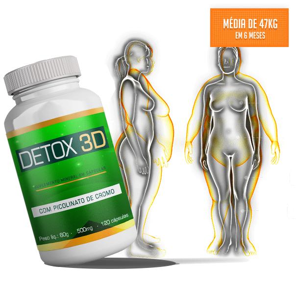 composição do Detox 3D